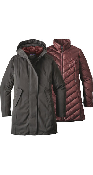 Patagonia W's Tres 3-in-1 Parka Forge Grey